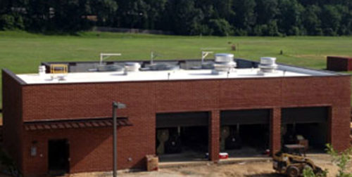 PROJECT Cooling/mechanical building