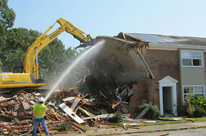 Demolition Project in Newport News
