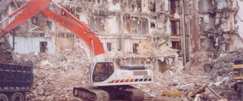 Demolition jobs by Waco, Inc.