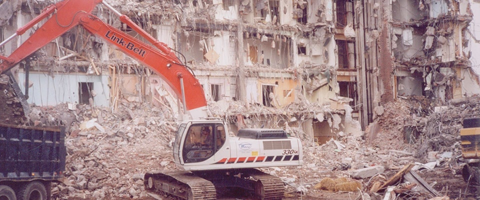 Demolition jobs by Waco, Inc.