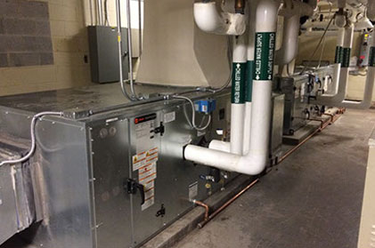 Comprehensive HVAC Project at Longwood University