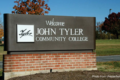 HVAC replacement project at John Tyler Community College