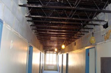 Washington Hall at Radford University-Interior Demolition & Asbestos Removal Project