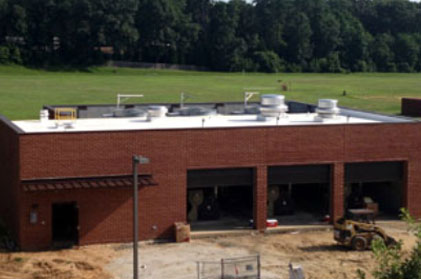 Thomas Dale High School- Developed New Cooling/Mechanical Building