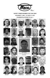 2010 Safety Prize Winners: