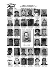 2011 Safety Prize Winners: