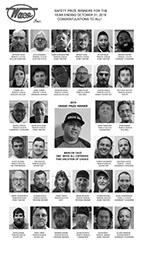 2019 Safety Prize Winners