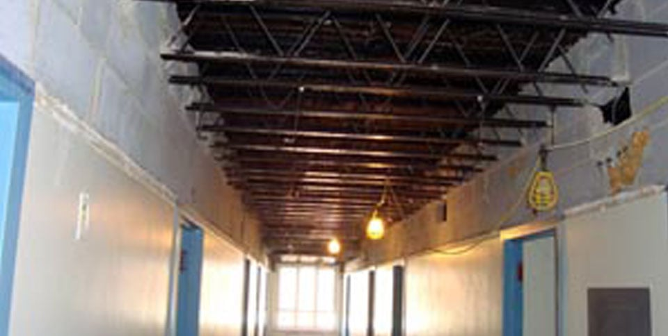 PROJECT interior demolition & Asbestos removal